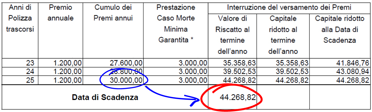 accantonare 100 euro al mese per 25 anni